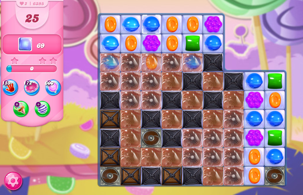 Candy Crush Saga level 6395