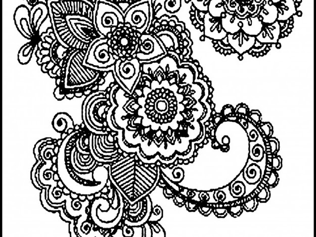 Difficults Adults Mandala Coloring Pages  Colorinenet
