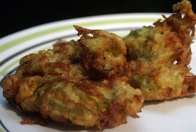 Zucchini Fritters {Vegan} 1