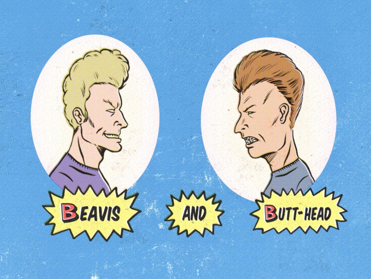 Beavis And Butt Head Animated Cartoon Hd Wallpaper All Hd