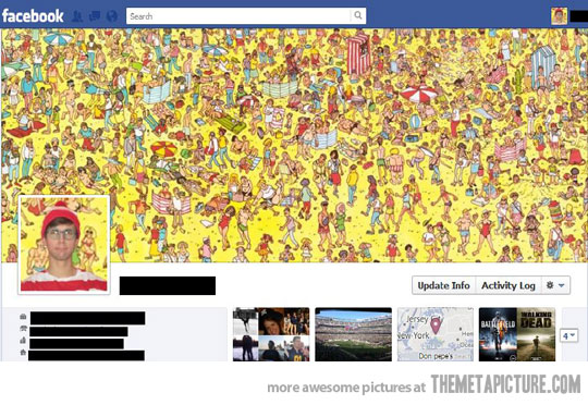waldo facebook timeline