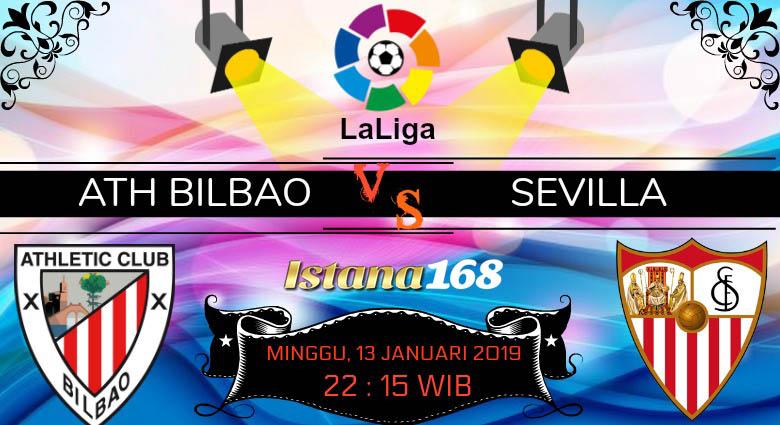 Prediksi Ath Bilbao vs Sevilla 13 Januari 2019