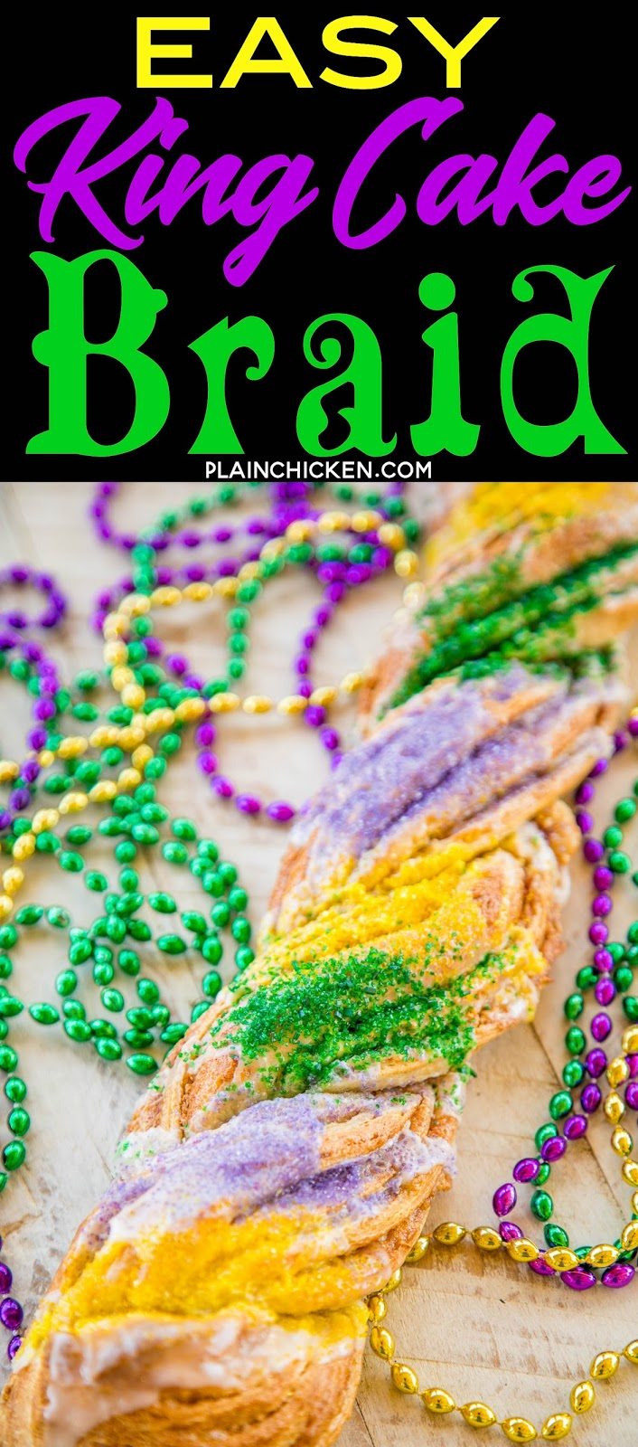 King Cake Dough Recipe