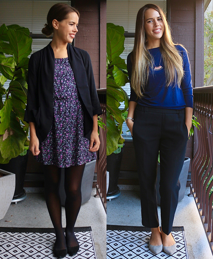 Jules in Flats - What to Wear to Work in October