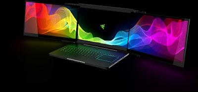Three Monitor Laptop