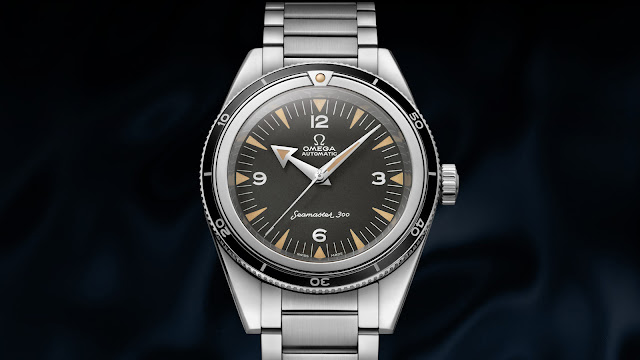 Omega 1957 Trilogy 60th Anniversary Seamaster 300