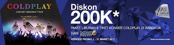 Tiket Konser Coldplay Di Bangkok Dari MNC Travel
