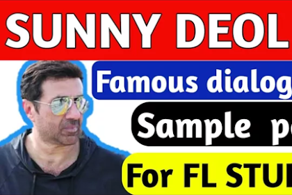 sunny deol dialogues sample pack DOWNLAOD for FL studio in free