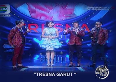 Tresna Garut di penampilan ketiga.