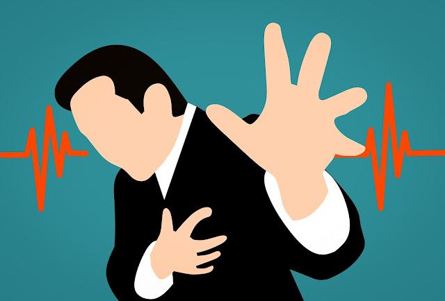 Men's chest pain