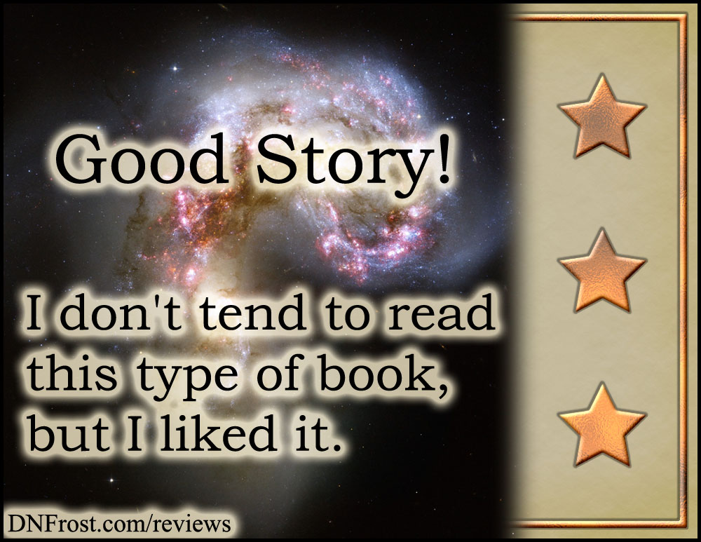 Three Copper Stars, from What are Reviews? An introduction to my take on five star rankings http://www.dnfrost.com/2017/04/what-are-reviews.html An introduction by D.N.Frost @DNFrost13 Part of a series.