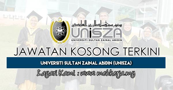 Jawatan Kosong Terkini 2019 di Universiti Sultan Zainal Abidin (UniSZA)
