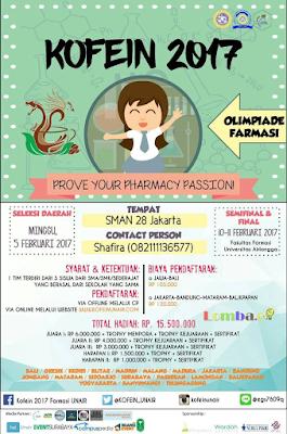 Olimpiade Farmasi Nasional by UNAIR Untuk SMA Sederajat