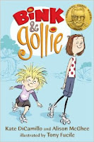 Bink and Goalie by Kate DiCamillo book cover