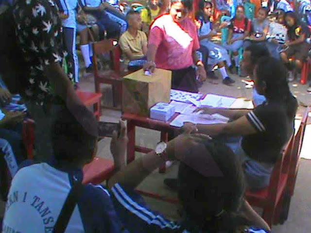 Belajar Berdemokrasi, SMK Negeri 1 Tansel Gelar Pemilihan Ketua OSIS Ala Pemilu