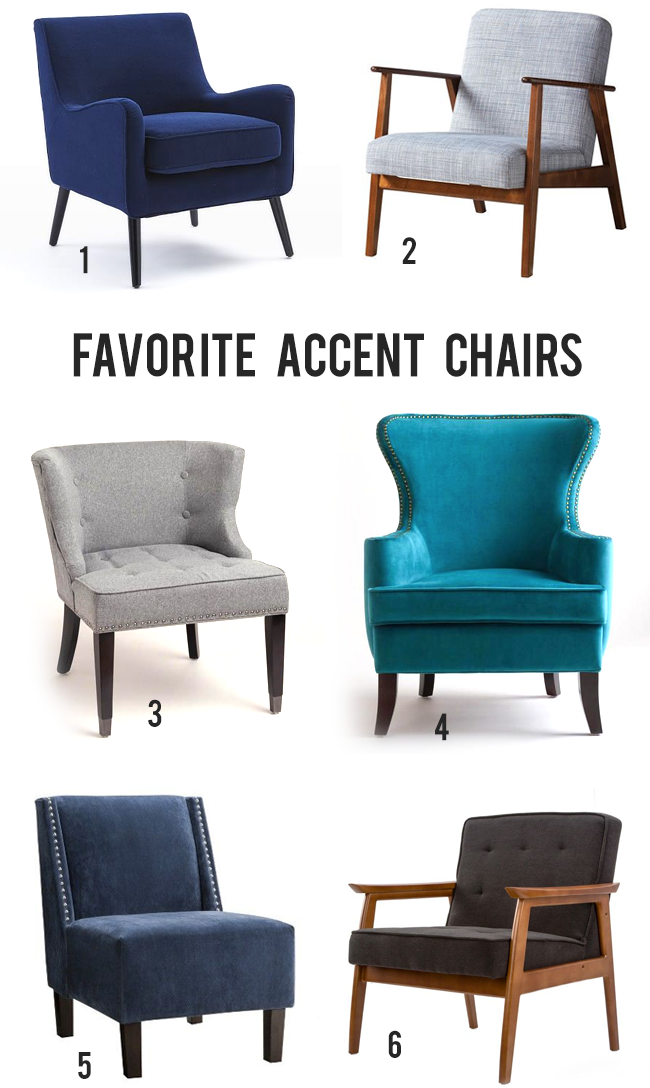 The Best Accent Chairs // Bubby and Bean