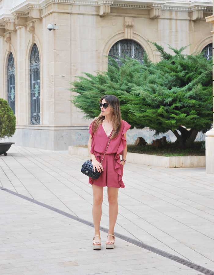 Playsuit and sandals