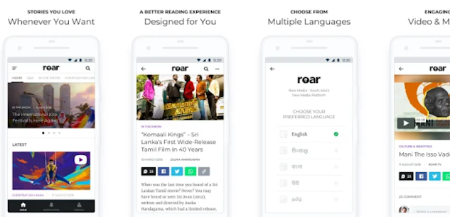 YouthApps - Roar Media - News from South Asia - Mobile App