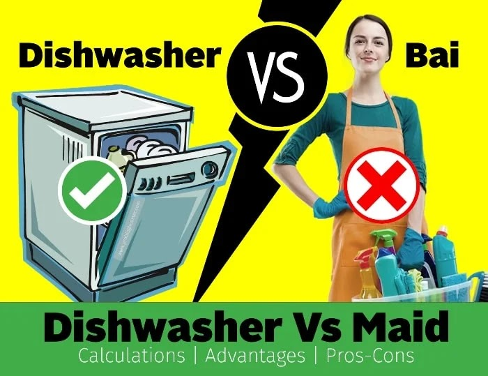 Dishwasher Vs Maid | Total Calculations | Advantages | Disadvantages | Guide to Buy Dishwasher in India