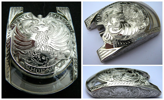 Custom Carved Phoenix Watch
