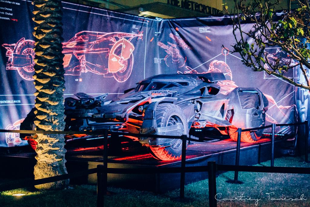 Courtney Tomesch San Diego Comic Con 2016 Batmobile
