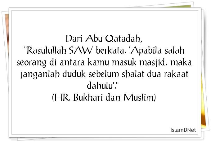 Shalat Sunnah Tahiyatul Masjid Dan Tata Cara Pelaksanaannya Ucapan Terindah