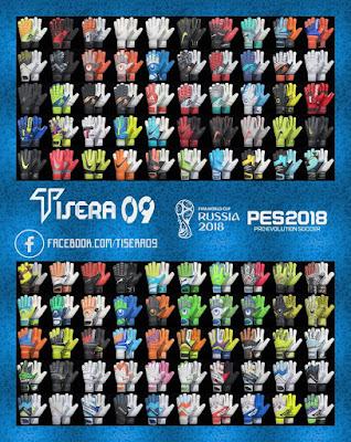 PES 2018 Glovepack v3 by Tisera09