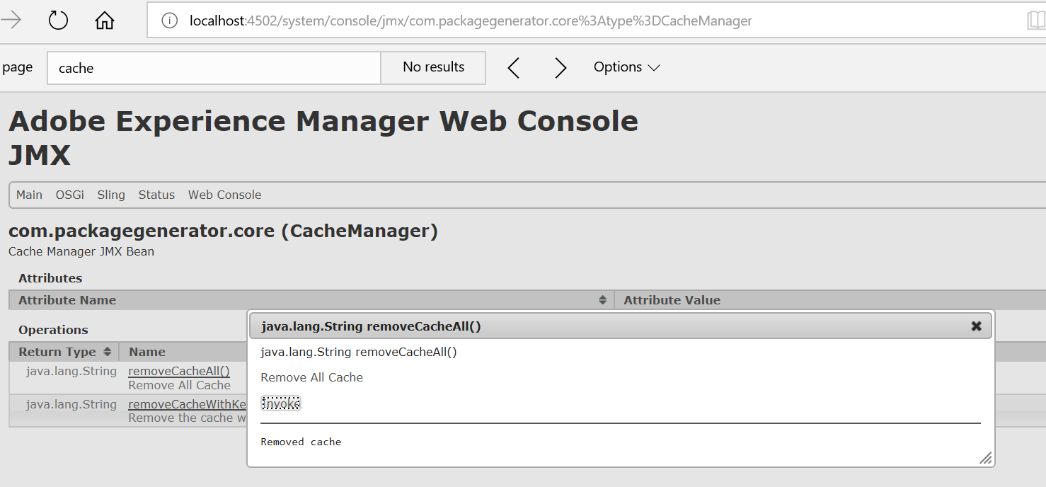 Developing a caching service to cache third part elements to improve