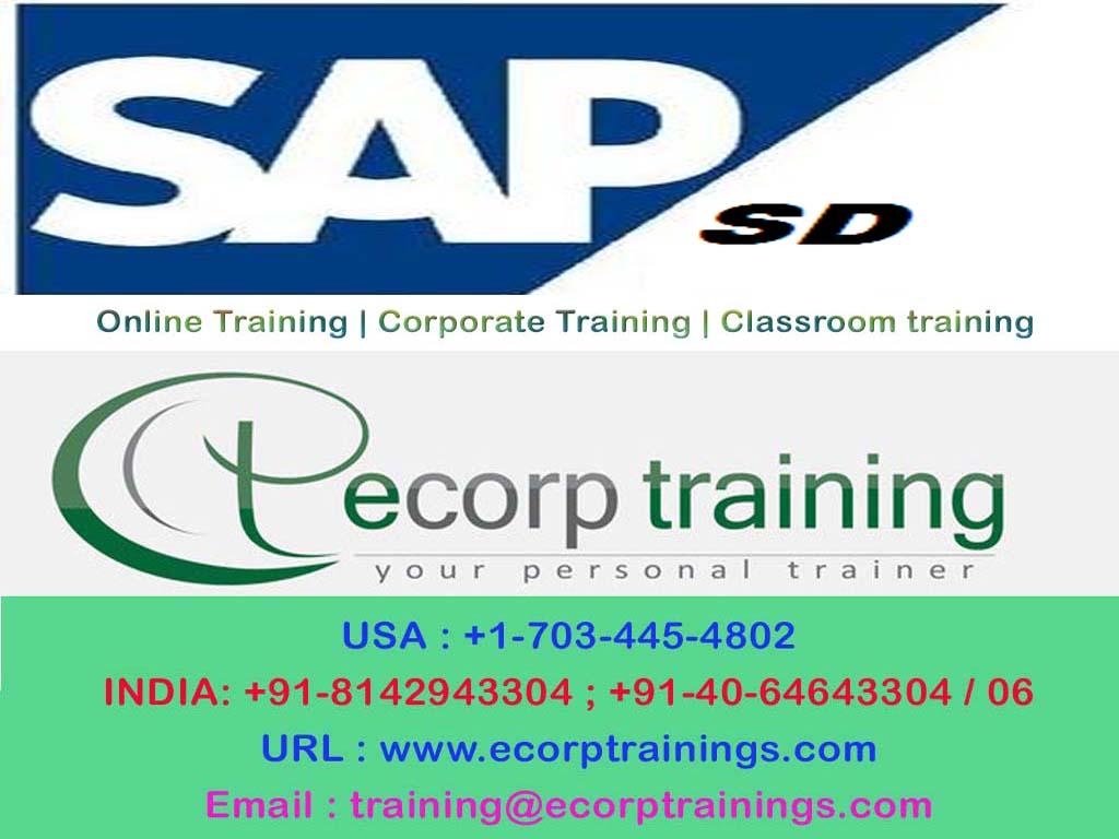 best sap sd module online training institutes hyderabad india uk [ 1024 x 768 Pixel ]