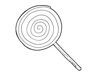 desenhos de pirulito para pintar colorir imprimir doces desenhos
