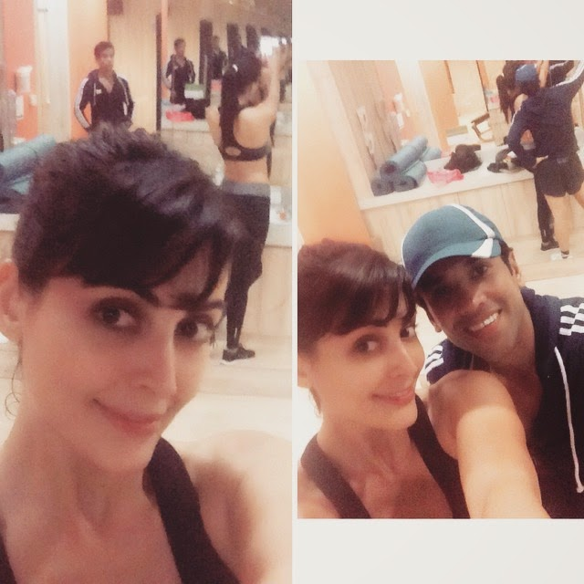 how we end our day thai al nd , mandana karimi , tushar kapoor , ky ako o lh ai nh um 3 , stay fit , stay healthy , g n , 😆😎💪👏✌️, Mandana Karimi Latest Hot Pics