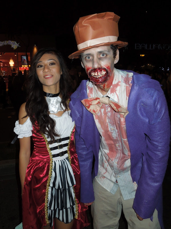 West Hollywood Halloween Carnaval horror costume