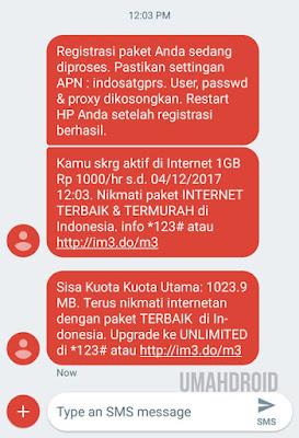 Paket Indosat Termurah Berhasil
