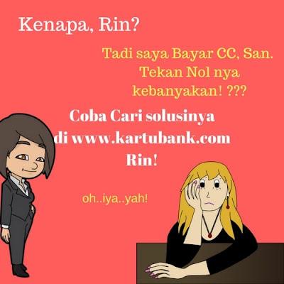 Transfer balik kelebihan pembayaran kartu kredit