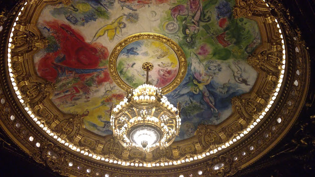 the ceiling of the Opera House