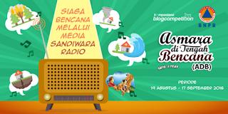 Kontes Blog Kompasiana Siaga Bencana BNPB Berhadiah Uang 10 Juta