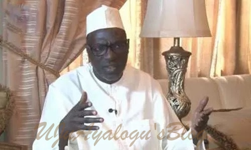 Ignore Oshiomhole's comment on Jonathan, he talks from both sides of his mouth – Makarfi