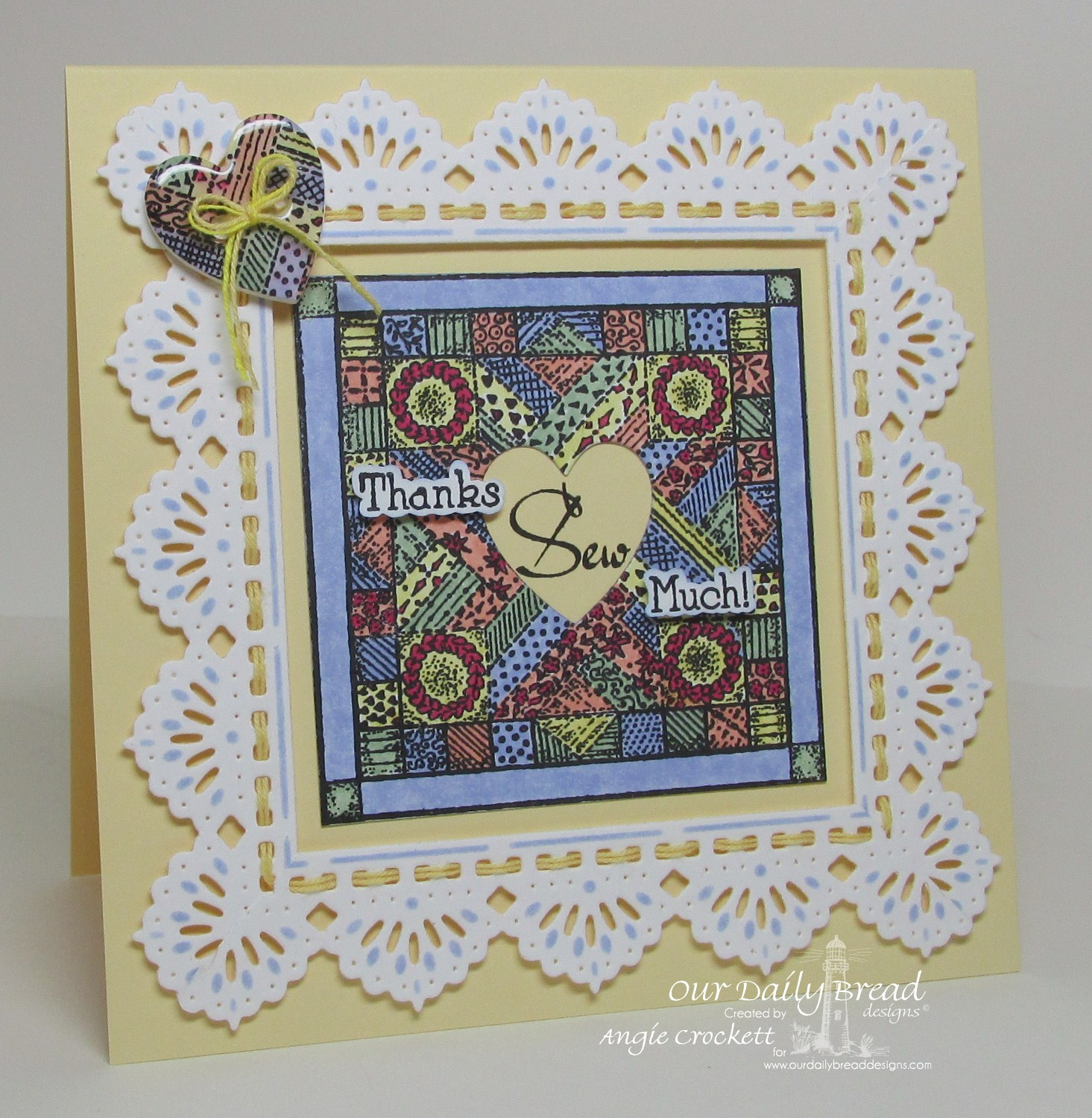 Stamps - Our Daily Bread Designs Quilts, ODBD Custom Beautiful Borders Dies, ODBD Custom Ornate Hearts Dies