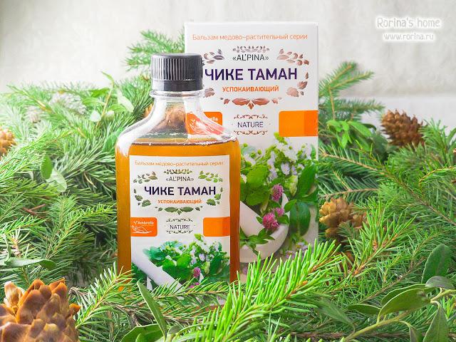 Купить Бальзам медово-растительный Альпина «Чике Таман» успокаивающий