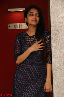 Dazzling Janani Iyer New pics in blue transparent dress spicy Pics 028.jpg