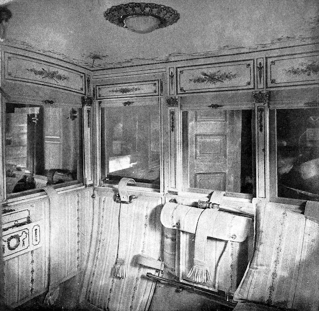 photo of 1909 motor car interior for Monty Burns