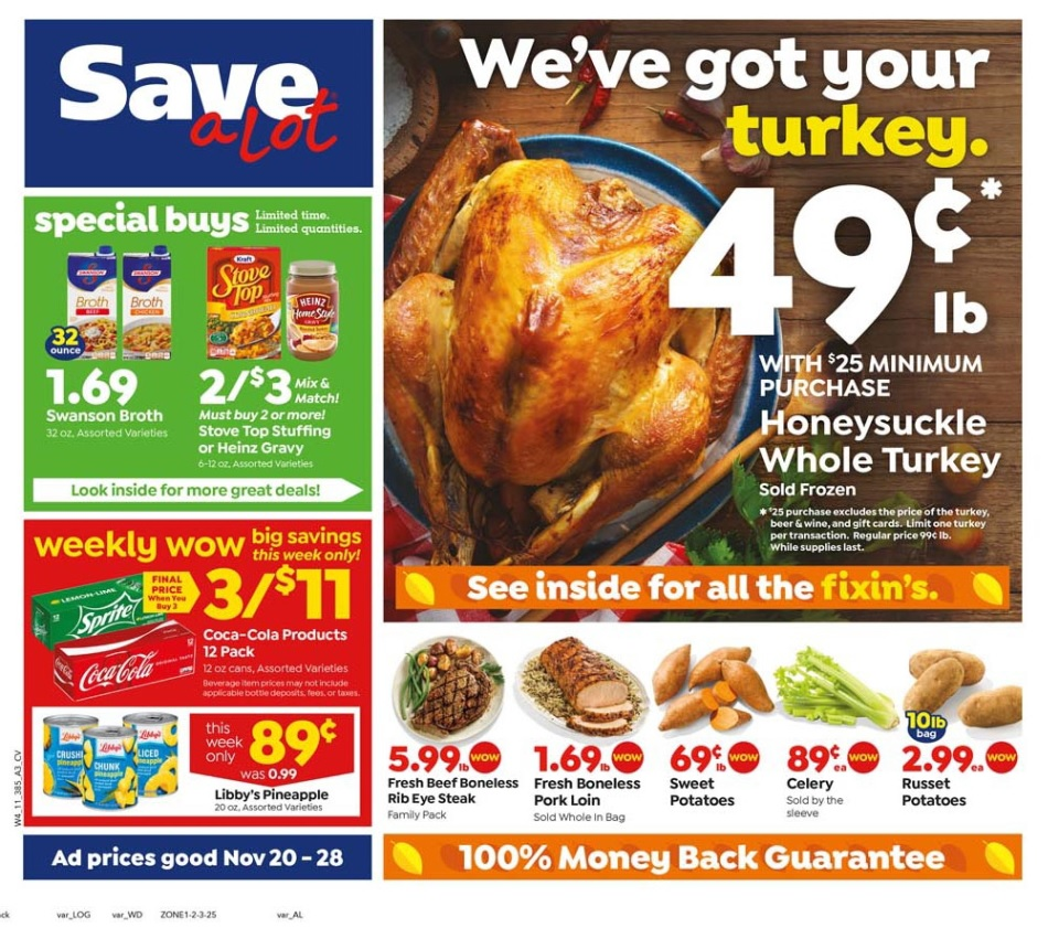 Save A Lot Weekly Flyer February 12