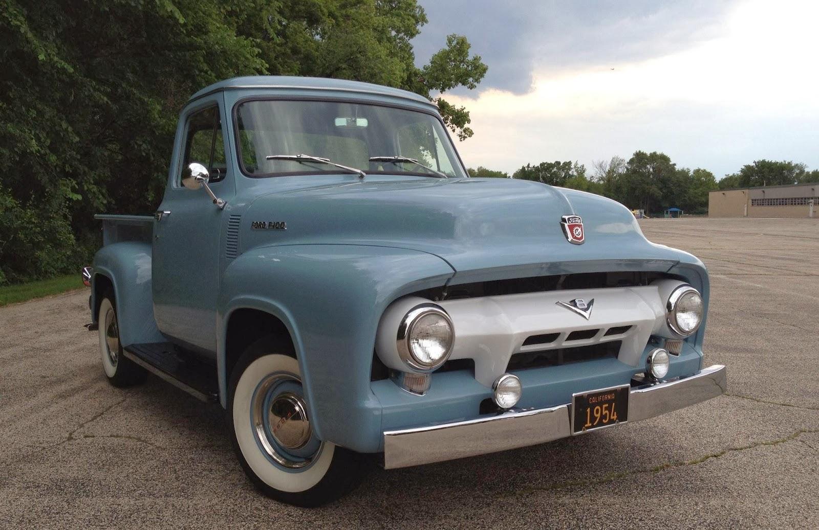 1954 Glacier Blue. Ford code M0184 Courtesy Fernando P Martinez.