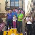 Media Maratón de Teruel. La fiesta descalcista