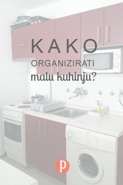 Kako organizirati malu kuhinju?