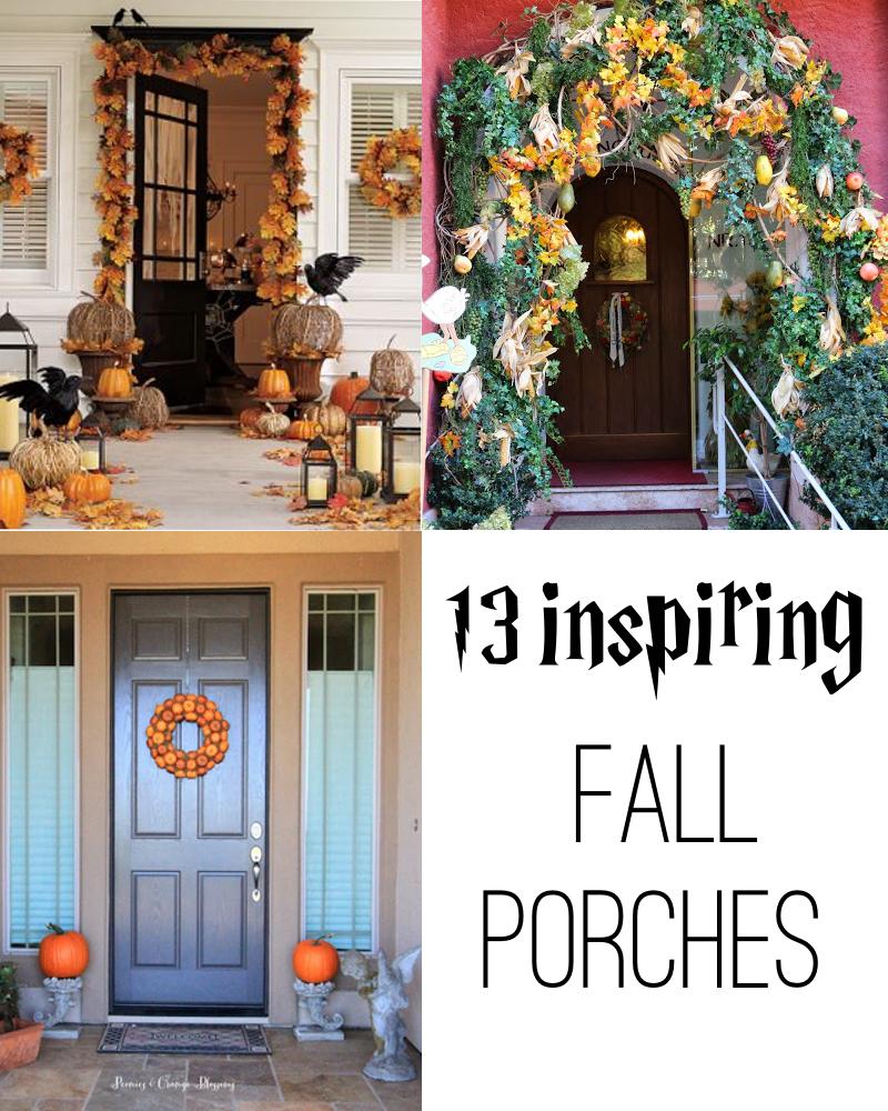 13 Inspiring Fall Porch Decorating Ideas