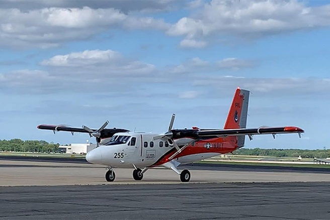 Introduces Newly Acquired Aircraft for Airborne Research by The U.S. Naval Research Laboratory