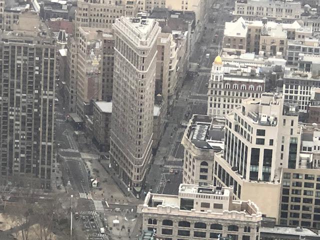 Flatiron building desde el Empire State. Nueva York con adolescentes | turistacompulsiva.com