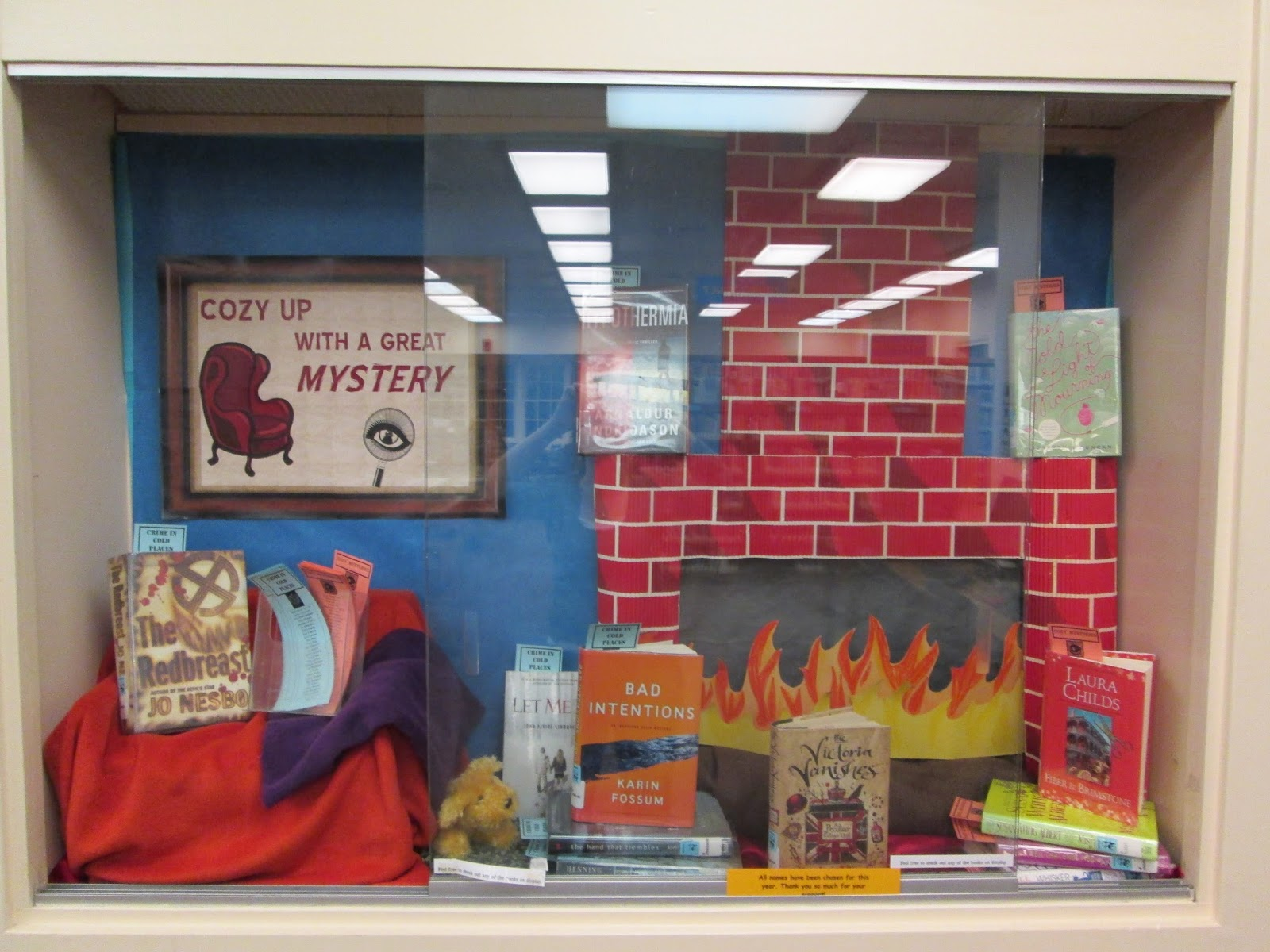 Digressions of a Sponge for Knowledge: Library Displays
