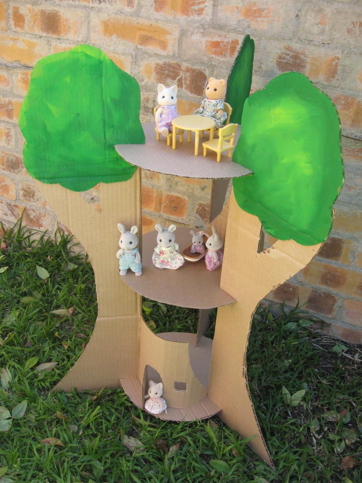 Joyful Mama S Place Cardboard Tree House